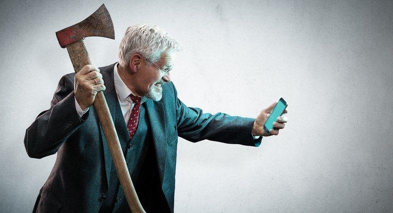 Sito Non Responsive per Smartphone